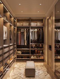 A Lust for Lighting 💡 Boost your home's elegance and value with unique lighting. Wardrobe Room, Wardrobe Design Bedroom, Master Bedroom Closet, Office Wardrobe, Master Suite, Capsule Wardrobe, Wardrobe Door Designs, Closet Designs, Home Room Design