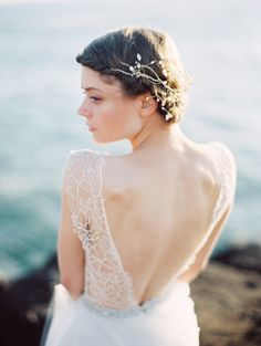 Ethereal Seaside Wedding Ideas - by Erich McVey