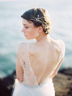Ethereal Seaside Wedding Ideas via oncewed.com