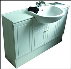 Lowes diamond goslin storm transitional poplar bathroom for Bathroom design blackpool