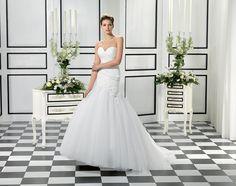 Style EK985, Eddy K Cheap Wedding Dresses Uk, Alternative Wedding Dresses, Eddy K, Bridal Gown Styles, Bridal Gowns, One Shoulder Wedding Dress, Praha, Tulle Wedding, Stockholm