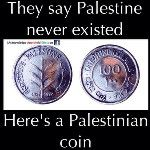 #POSTER: They Say Palestine Never Existed... Heres A Palestinian Coin from 1927. #Palestine #Israel