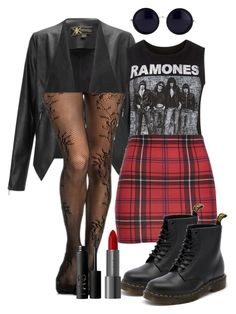 """""""Soft Grunge"""" by special-k14 ❤ liked on Polyvore featuring Lipsy, Dr. Martens, The Row and NARS Cosmetics"""