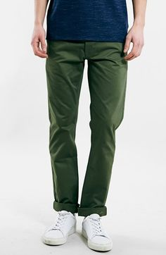 Men's Topman 'LTD Core Collection' Slim Tapered Chinos