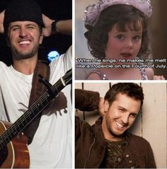 My love for Luke Bryan might be becoming an obsession... ok maybe it is...