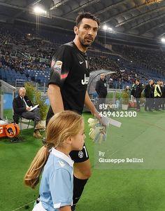 Gianluigi Buffon of Juventus FC before the Serie...