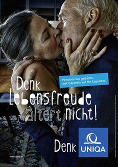 Altenwerbung der Uniqa - vorunruhestand.de