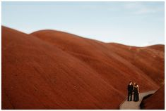 Painted Hills engagement photos in Central Oregon by Katy Weaver