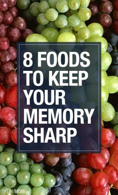 Improve your memory with these 8 foods.