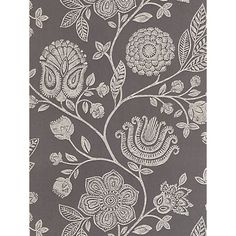 Buy Harlequin Bonita Trail Wallpaper, Grey, 110012 Online at johnlewis.com