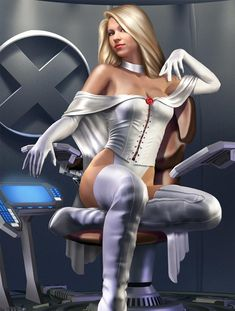 Emma Frost  Auction your comics on http://www.comicbazaar.co.uk