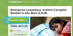 Groupon per l'emergenza Lampedusa insieme a Ai.Bi Amici dei Bambini - #couponsolidale