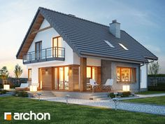 A Traditional house of 1600 ft² for 65 thousand Dollars + Plan Future House, My House, Small House Plans, Modern House Design, Traditional House, Home Fashion, My Dream Home, Home Projects, Building A House