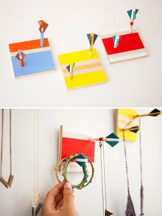 To DIY For: 25 Wall Art Gifts You Can Make via Brit + Co.
