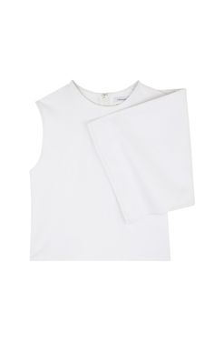 White Honeycomb Brick Top by J.W. Anderson for Preorder on Moda Operandi