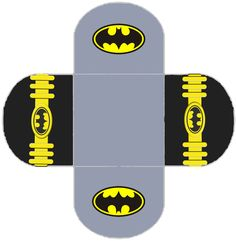 Batman: Free Printable Labels, Free Party Printable and Box.