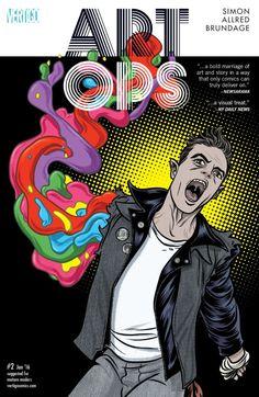 Art Ops (2015) #2 #Vertigo #DC #ArtOps (Cover Artist: Laura Allred) Release Date: 11/25/2015