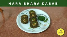 Hara Bhara Kabab or Veg Kabab is a recipe made by fresh and green leafy vegetables which gives a charming green color to the Kababs. Food Porn, Food L, Love Food, Veg Kabab Recipe, Baked Potato, Food To Make, Vegetarian, Kebabs, Fresh