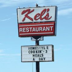 Kel's Kitchen was in business since 1963, providing food to patrons for 51 years. They moved to an old Pizza Inn building at Forest and Inwood, Dallas, Texas  in 1985, after their original restaurant burned. They served breakfast and offered lunch specials.  The restaurant closed in 2014.