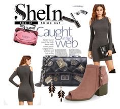 """Shein 9/10"" by zina1002 ❤ liked on Polyvore featuring Gucci and Bobbi Brown Cosmetics"