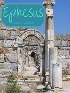 travelyesplease.com | Ephesus- Exploring an Ancient City (Blog Post) | Ancient Ephesus, Turkey