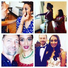 My beautiful bride.......The  Indian wedding made in Naples ....so happy to be…