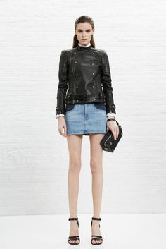 Denim Skirt Outfit Inspiration.