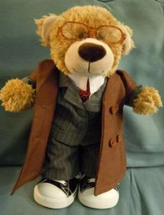 Very cool. A 10th Doctor Build a Bear. I want this. I NEED this.