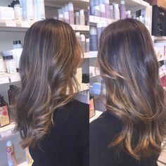 honey bron balayage, painting, pintura