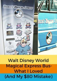 Walt Disney World Magical Express Bus - My $80 Mistake