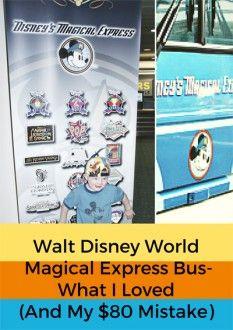 Walt Disney World Magical Express Bus - My $80 Mistake
