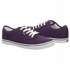 Athletics Vans Women's Atwood Lo Grape/White FamousFootwear.com