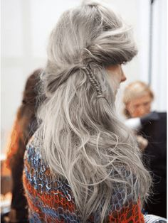 La tendance Granny Hair