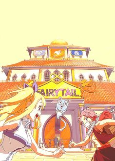 Fairy tail♡ Natsu, Happy and Lucy ♡♡♡