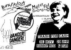 LIVE! Punk Merkzettel - SONIC ABUSE Record Release + DANGER! DANGER! + BURN/IT/OUT + MEL ET FEL
