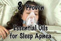 Essential oils for Sleep Apnea include Marjoram, Lavender, Peppermint, Eucalyptus, Roman Chamomile, Thyme, Geranium and Valerian Essential Oils