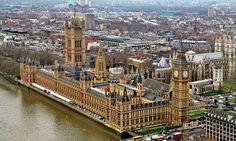 Parlamento de Londres, de Barry y Pugin