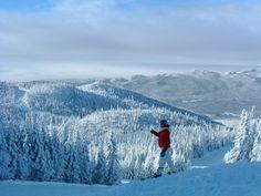 Le Saint-Moritz à Saint-David-de-Falardeau, Saguenay-Lac-Saint-Jean #chalet #saguenaylacsaintjean