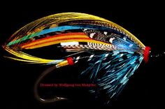 The Black Doctor Salmon Fly