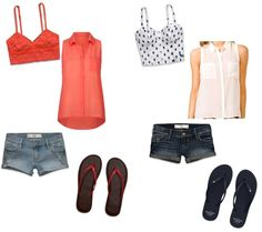 """""""sheer summer days"""" by isla614 on Polyvore"""