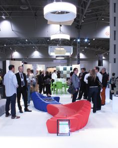 Levey's Show Partner booth at #IIDEX 2013 #toronto #design #interiordesign