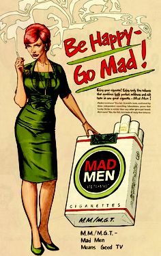 Dustin Weavers Live Journal - Entry 107: Super Powered Lucy/ Mad Men