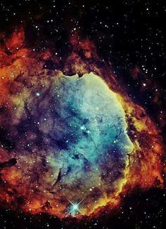 """Gabriela Mistral Nebula"" NGC 3324 is a star cluster at the northwest corner of the Carina Nebula, home of the Keyhole Nebula and star Eta Carinae"