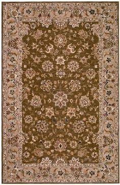 Safavieh Chelsea Collection HK505B Hand-Hooked Brown and Ivory Wool Area Runner 2-Feet 6-Inch by 10-Feet by Safavieh. $154.00. The classic style of this traditional kerman pattern will give your room an elegant accent. This rug features a brown background and ivory border, and displays a timeless Kerman pattern in shades of green, ivory, rust and black. This runner measures 2-feet 6-inch by 10-feet. The handmade, hand-hooked construction adds durability to this rug, ensuring it w...