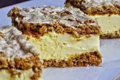 GABRIELA KOLAČ: Prhke kore i fantastična krema za pravi gurmanski trenutak Albanian Recipes, Croatian Recipes, Baking Recipes, Cookie Recipes, Kolaci I Torte, Torte Cake, Different Cakes, Sweet Cakes, Homemade Cakes