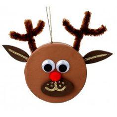 Nicole™ Crafts Paper Mache Ornament Reindeer