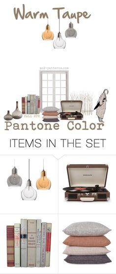 Warm Taupe. Inspiration I. by mc2-patterns on Polyvore featuring art
