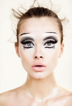 These makeup looks are scary beautiful—and we can't wait to try them out.