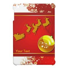 Christmas Holidays iPad Mini Case by elenaind