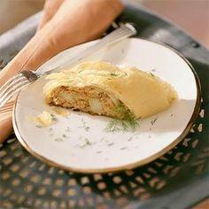 Caramelized Onion, Fig, and Blue Cheese Strudel | MyRecipes.com
